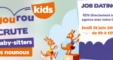 Recrutement nounou kangourou kids arras